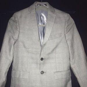 Ralph Lauren Grey Houndstooth Boy's Jacket